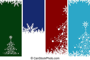 Christmas banners. Place your text here.