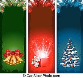 Christmas banners