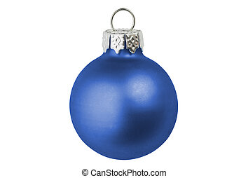 Christmas bauble - A isolated christmas bauble.
