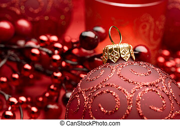 Christmas Bauble closeup