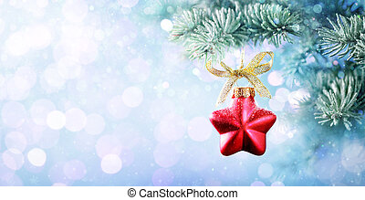 Christmas Bauble Shape Star