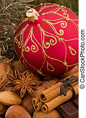 Christmas Bauble with Decoration