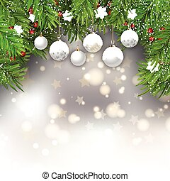 christmas baubles background 1711