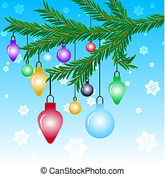 Christmas baubles - Christmas decorations