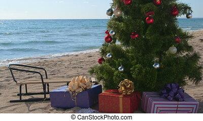 Christmas beach holidays
