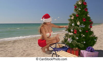 Christmas beach vacations