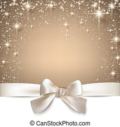 Christmas beige starry background. - Beige christmas...