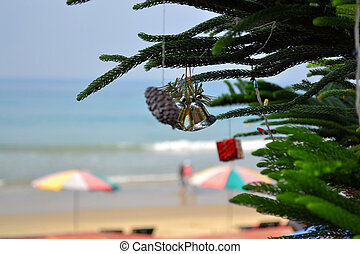 christmas bells at the beach