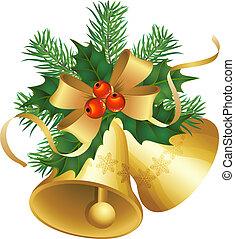 christmas bells - christmas decor and symbols