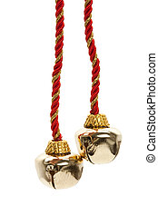 Christmas Bells with white background