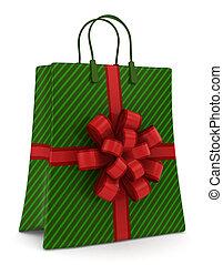 christmas bevásárlás, táska