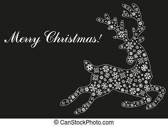 Christmas--black-background