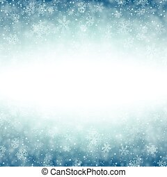 Christmas blue abstract background.