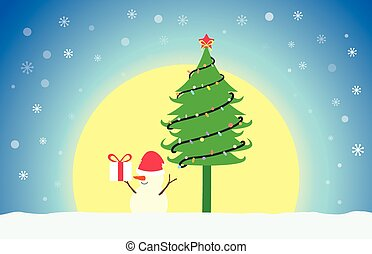 Christmas-Blue-Background