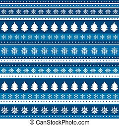 Christmas blue background wrapping paper - Christmas blue...