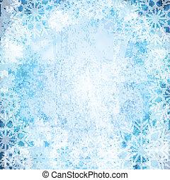Christmas blue design