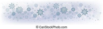 Christmas blue design with lots of beautiful snowflakes.