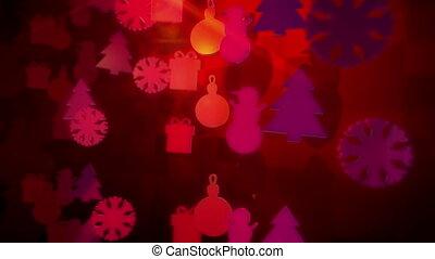 """christmas, bois, rotation, around"", figures"