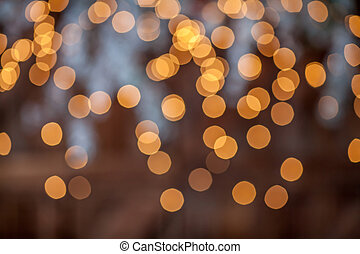 Christmas bokeh light abstract holiday background
