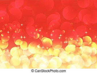 Christmas bokeh lights background