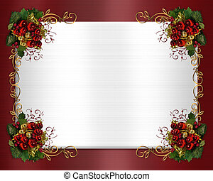Christmas border classic - Image and illustration...