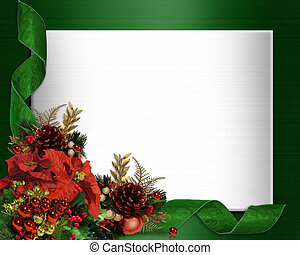 Christmas border elegant corner design