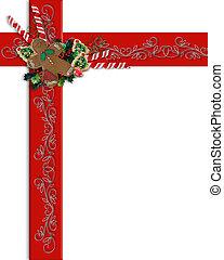 Christmas Border Ribbon