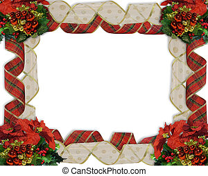 Christmas Border Ribbons