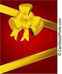Christmas bow decoration