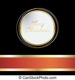Christmas bright background with ball