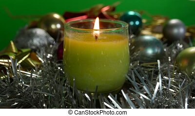 christmas bucket candle - christmas bucket candle...