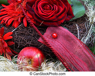 christmas bunch - holiday bouquet