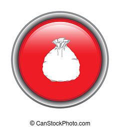 Christmas button