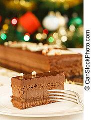 Christmas cake dessert