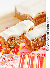 Christmas cake with nuts