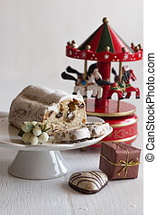 Christmas cakes and gingerbread