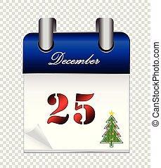 Christmas calendar background
