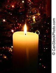 christmas candle #2