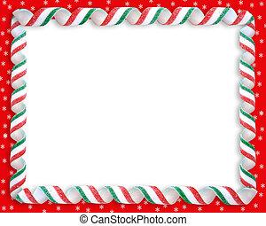 Christmas Candy Border