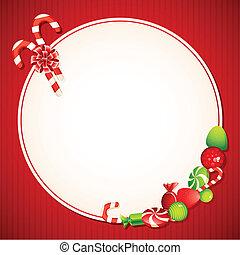 Christmas Candy Card