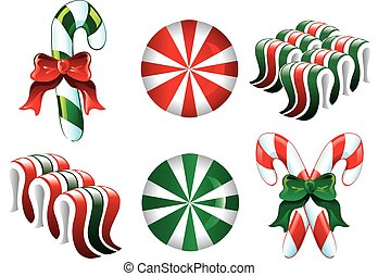 Christmas Candy Icons