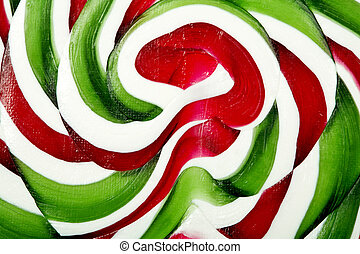 Christmas candy texture