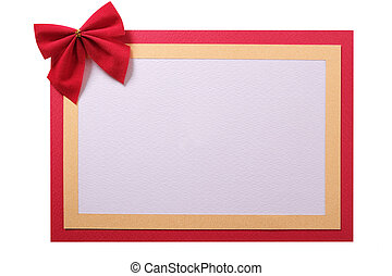 Christmas card background isolated