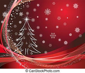 christmas card - Beautiful vector Christmas (New Year) card...
