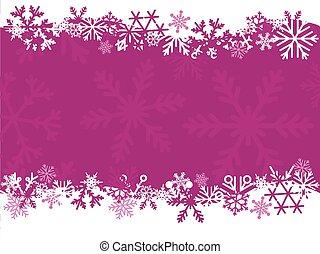 Christmas card blank