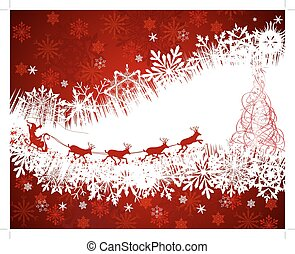 Christmas card - Christmas festive background. EPS 10 Vector...