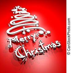 Christmas card - creative design of christmas card