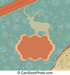 Christmas card design. EPS 8