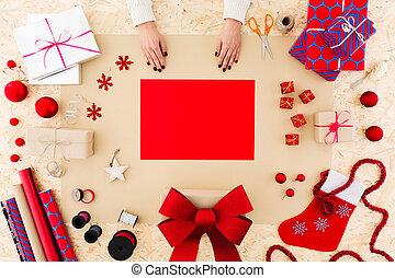 Christmas card for family