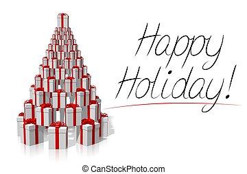 Christmas card - Happy Holiday!